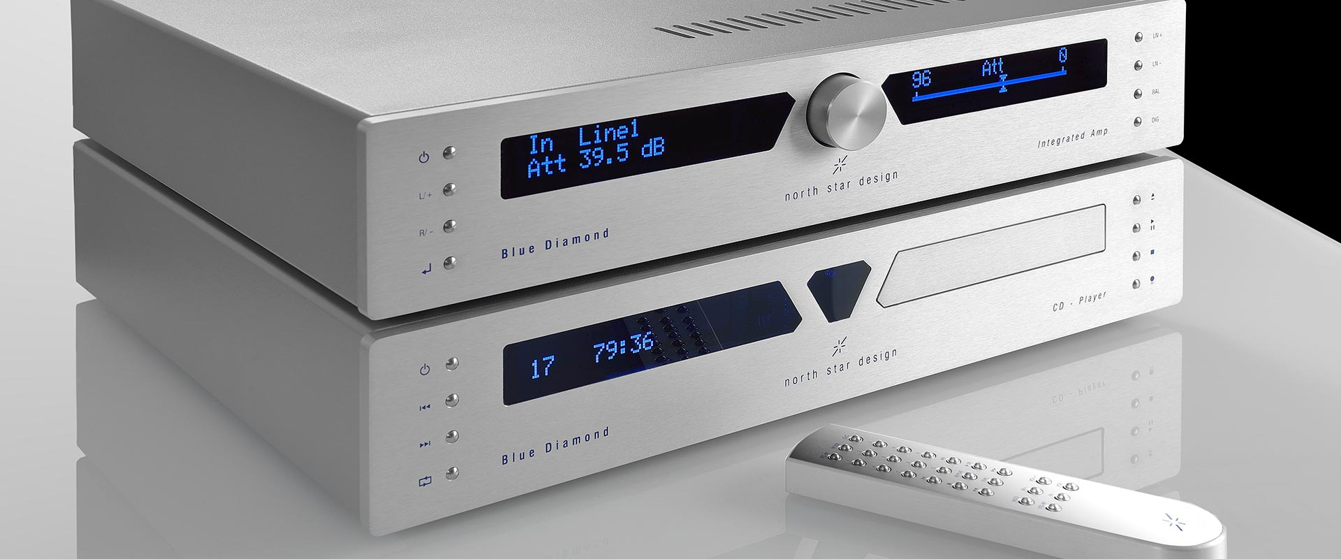 North Star Design Blue Diamond Integrated Amp CD player