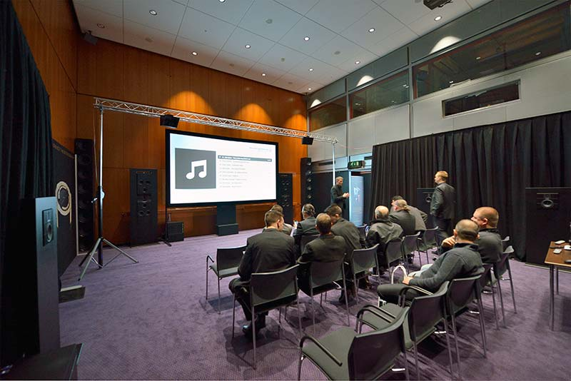 Steinway Lyngdorf en Integrated Systems Europe