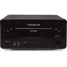 Cambridge One Black mini systeem