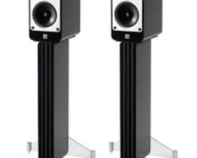 Q Acoustics Concept20 +stands Black